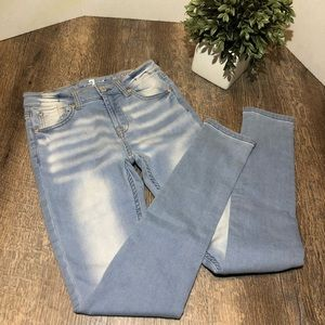 NWT girls 7 For All Man Kind jean pants size 12